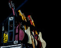 The Mavericks guitars, Jazz Fest 2013, New Orleans-1