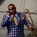Glen David Andrews, Jazz Fest 2011, New Orleans-1